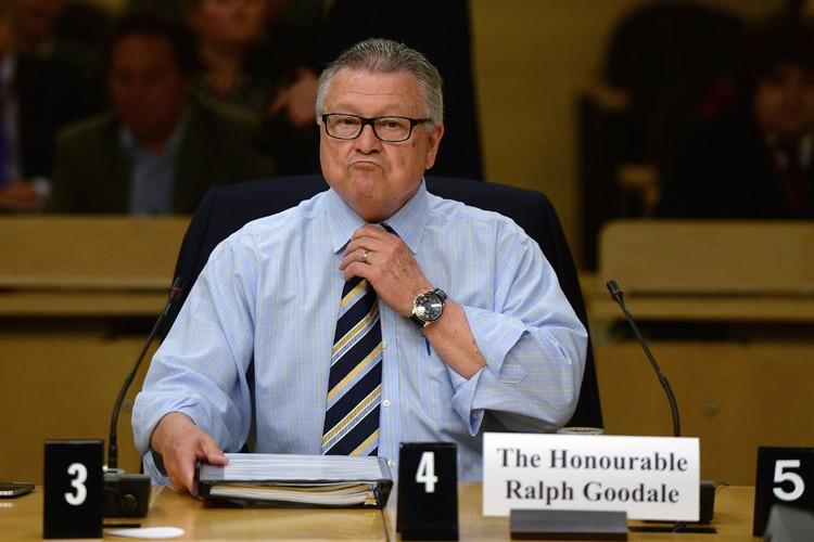 Ralph Goodale s'est exprimé lundi devant un comité... (PHOTO PC)