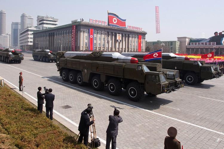 En avril, la Corée du Nord a déjà... (PHOTO AFP)