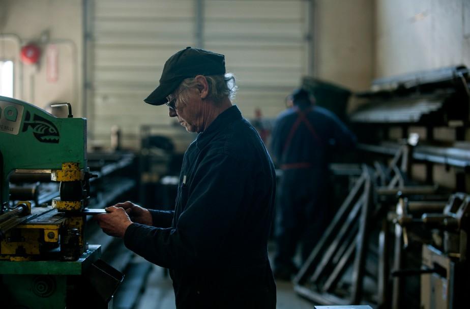 Les perspectives du secteur manufacturier canadien étaient... (Photo d'archives)