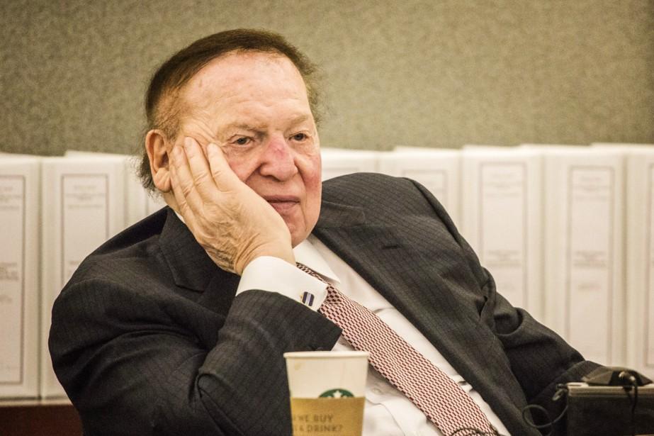 L'un des plus puissants milliardaires républicains, le magnat... (PHOTO Jeff Scheid, ARCHIVES Las Vegas Review-Journal/AP)