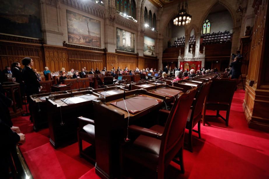Le Sénat a adopté mercredi soir un amendement... (PhotoChris Wattie, archives Reuters)
