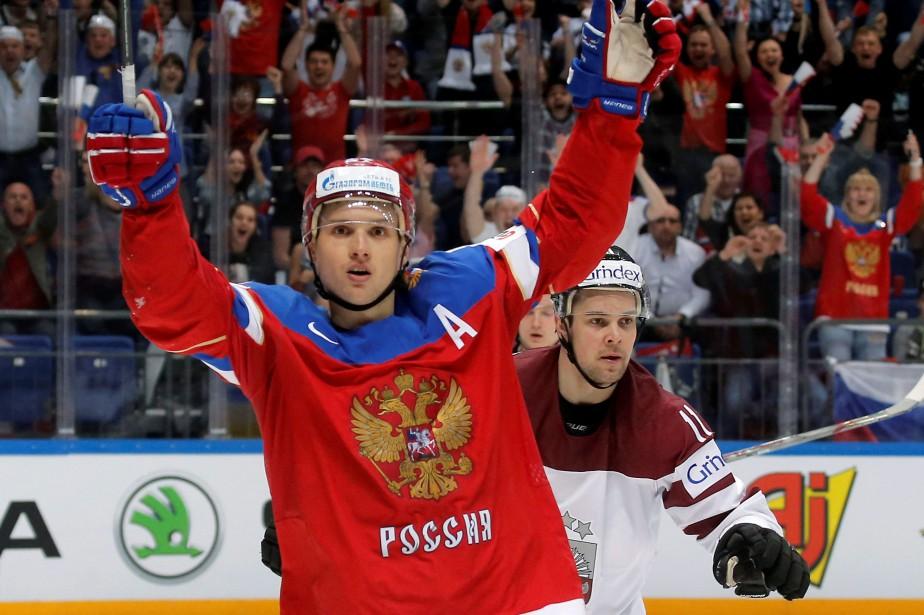 Vadim Shipachev a été le meilleur pointeur du... (PhotoMaxim Shemetov, Reuters)