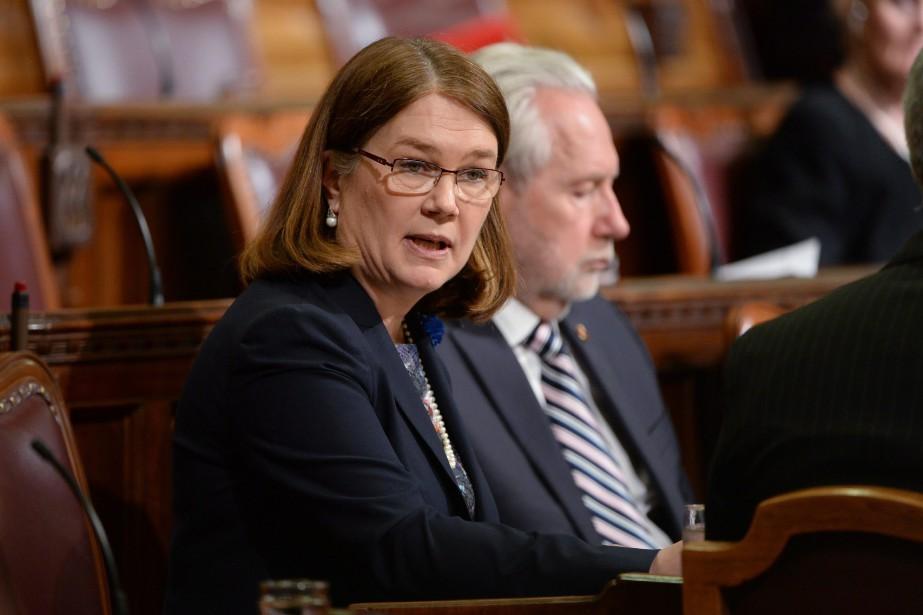 La ministre de la Justice, Jody Wilson-Raybould, a... (Photo Adrian Wyld, La Presse Canadienne)