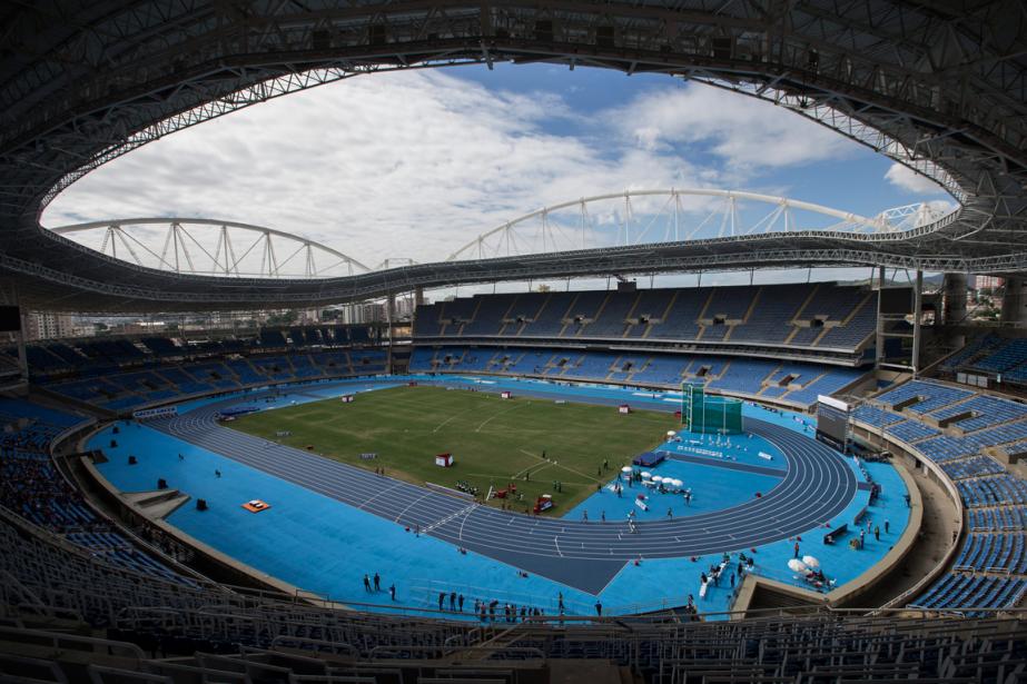 Le stade olympique de Rio... (Photo Felipe Dana, archives AP)
