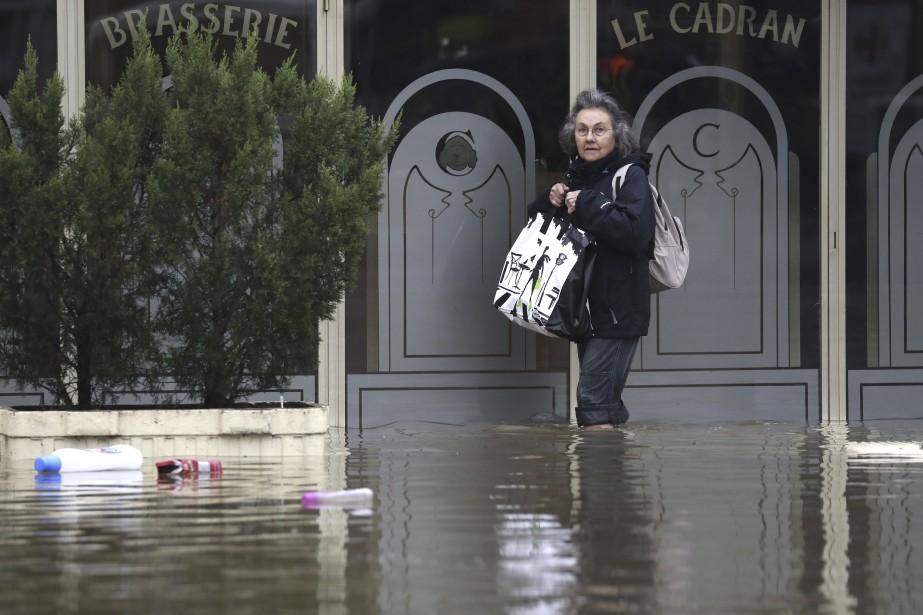 Citoyenne de Longjumeau, à 20 kilomètres de Paris (AFP, KENZO TRIBOUILLARD)
