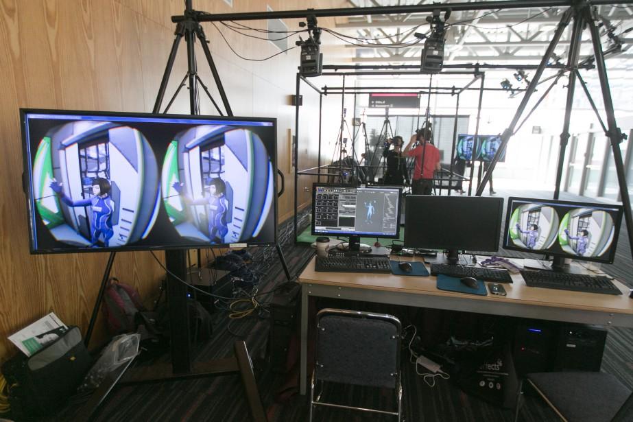 L'industrie des effets visuels emploie2500 personnes au Québec,... (PHOTO FRANçOIS ROY, LA PRESSE)