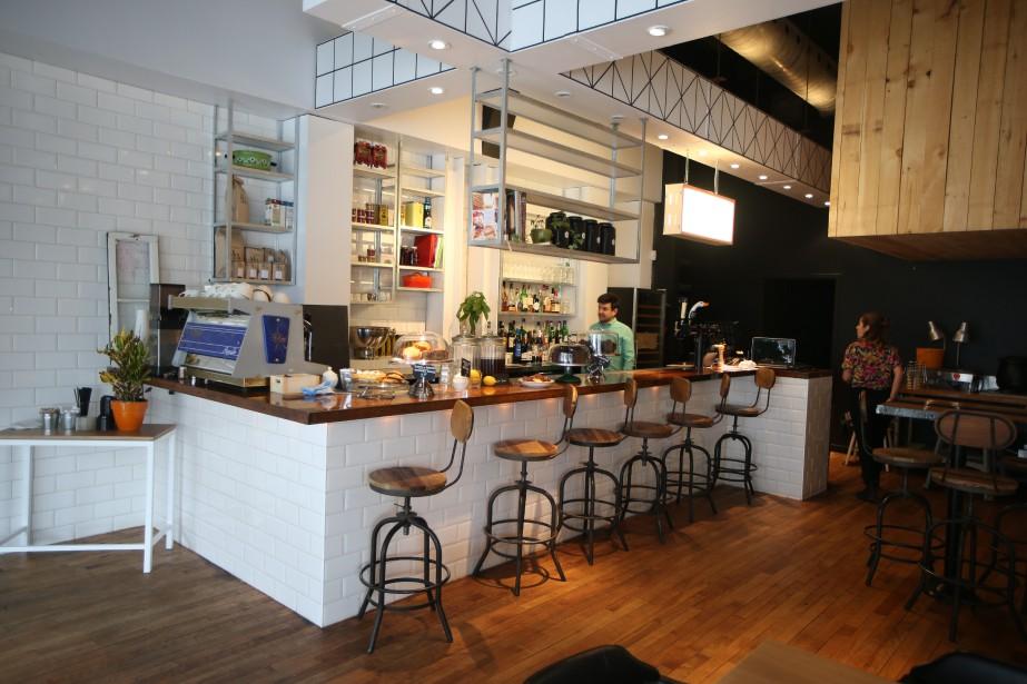 Le nouveau restaurant et comptoir 3734, qui a... (PHOTO Martin Chamberland, LA PRESSE)