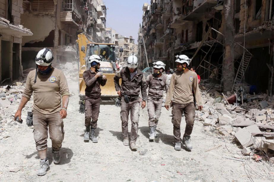Dans la deuxième ville du pays ravagé par... (PHOTO THAER MOHAMMED, AFP)