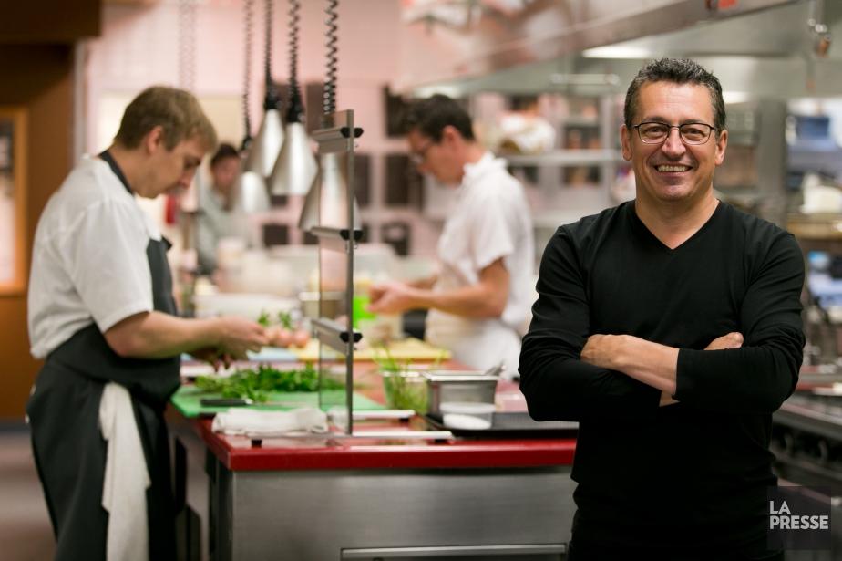Le chef Normand Laprise, du restaurant Toqué!, a... (PHOTO FRANÇOIS ROY, ARCHIVES LA PRESSE)