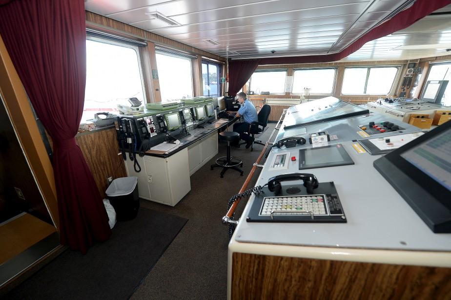 Le navire poursuivra la cartographie de l'Arctique, opération complétée seulement à 10 %. (Le Soleil, Erick Labbé)