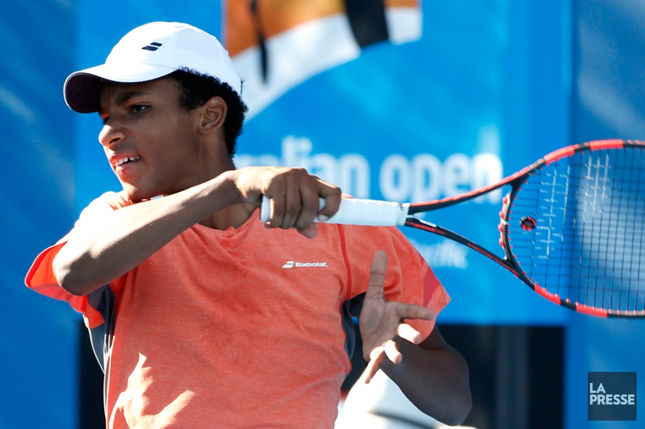 Félix Auger-Aliassime... (PHOTO VINCENT THIAN, ARCHIVES AP)