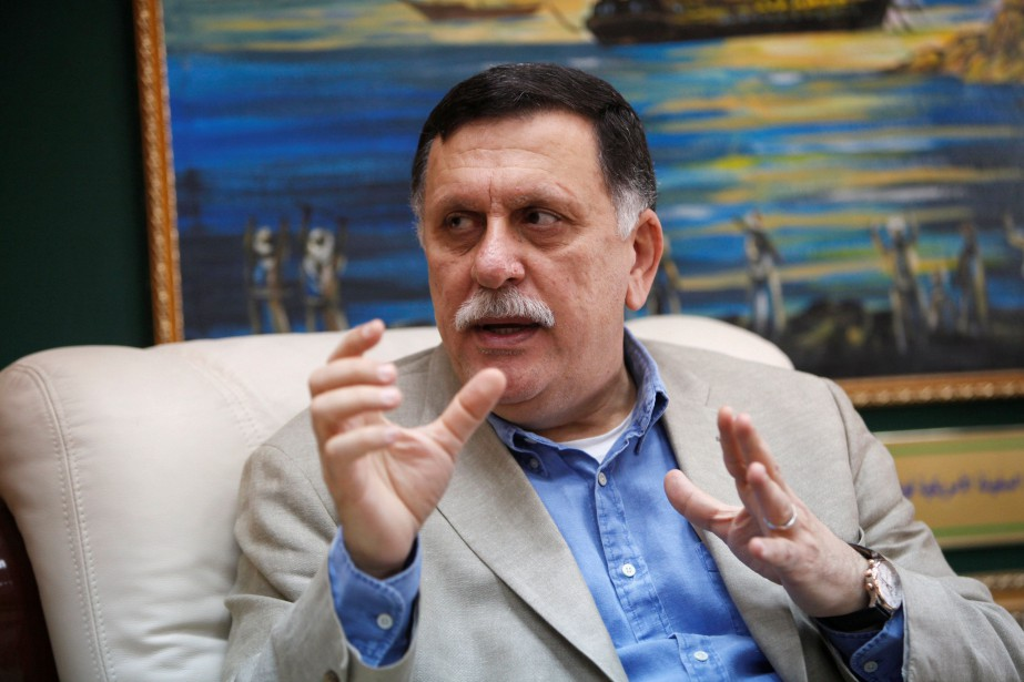 Le premier ministre du gouvernement d'union nationale libyen,... (PHOTO Ismail Zitouny, Reuters)