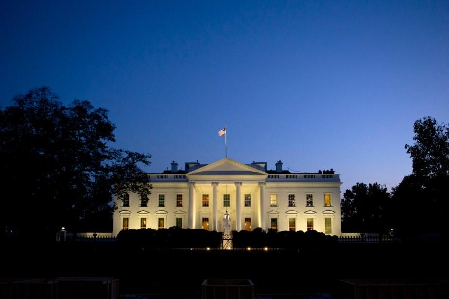 LaMaison-Blanche, à Washington... (PHOTO JACQUELYN MARTIN, ARCHIVES AP)