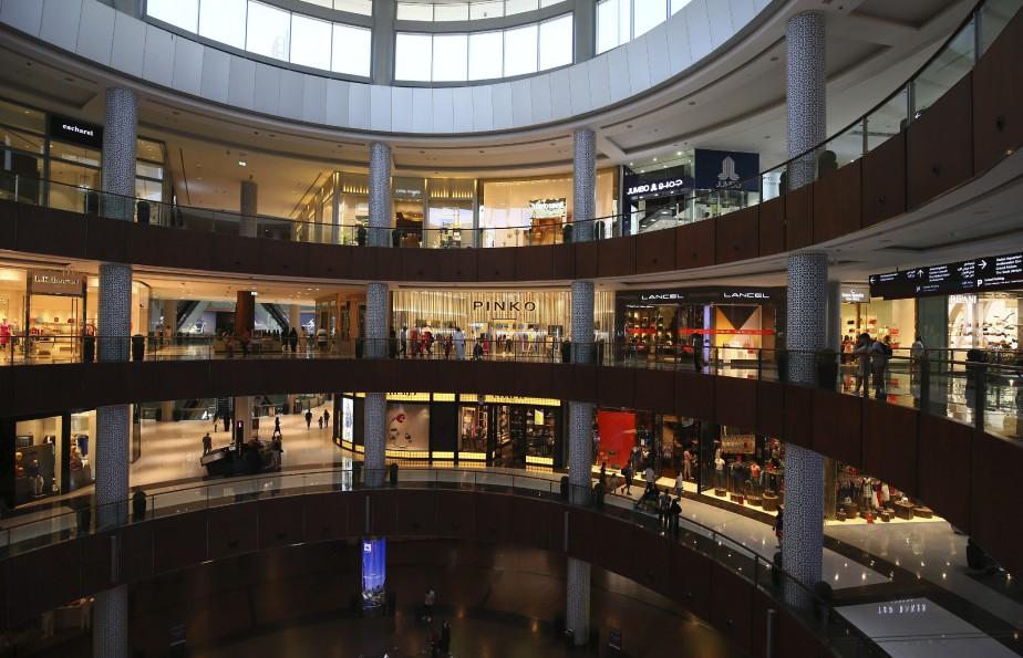Lesmégacentres commerciaux attirent desmillions de touristes étrangers. (AFP, Ali Khalil)