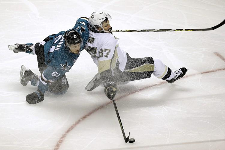C'est l'avantage de la patinoire et incidemment celui... (PHOTO AP)