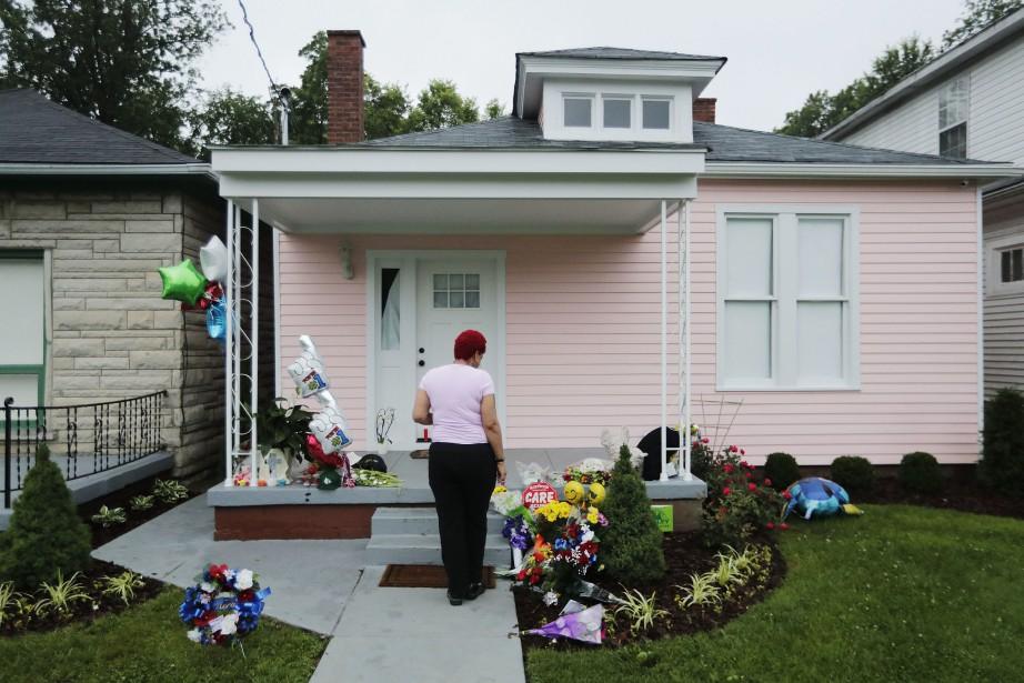 La maison natale de Muhammad Ali à Louisville... (Photo David Goldman, AP)