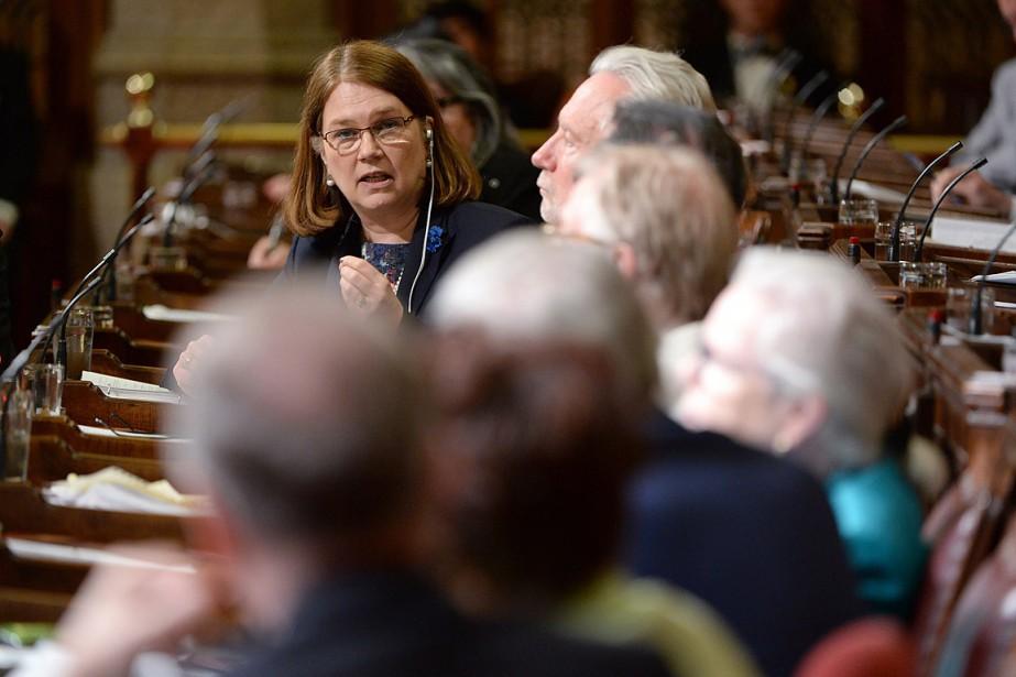 La ministre fédérale de la Santé, Jane Philpott.... (Photo Adrian Wyld, archives PC)