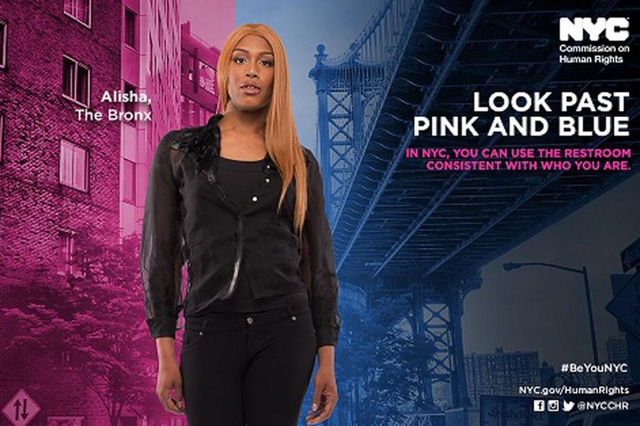 Chaque affiche et vidéo met en scène des... (PHOTO NYC.GOV)