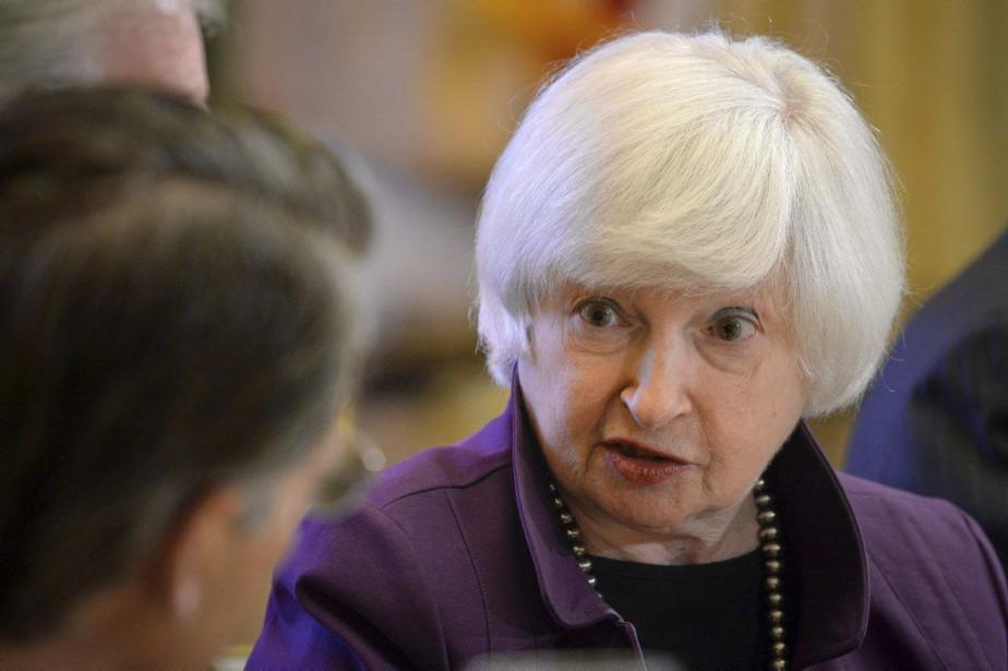 La présidente de la Réserve fédérale américaine Janet... (Photo Charles Mostoller, Reuters)