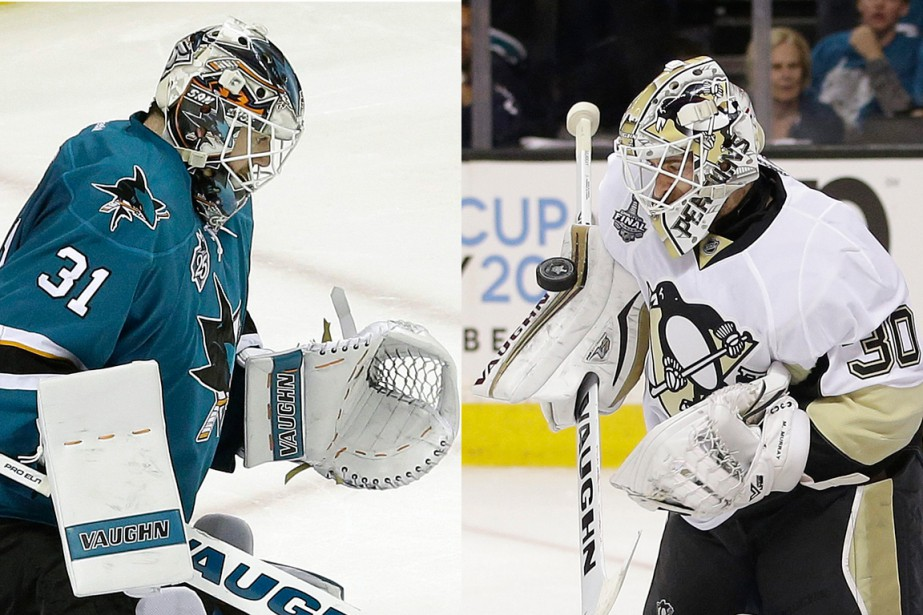 Martin Jones et Matt Murray... (PHOTOS ARCHIVES ASSOCIATED PRESS)
