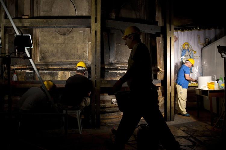 Les travaux de trois millions d'euros s'étireront sur... (PHOTO AP)