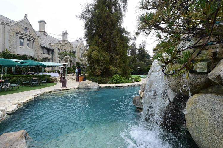 La demeure était évaluée à 200 millions de... (Agence France-Presse, Frederic J. Brown)