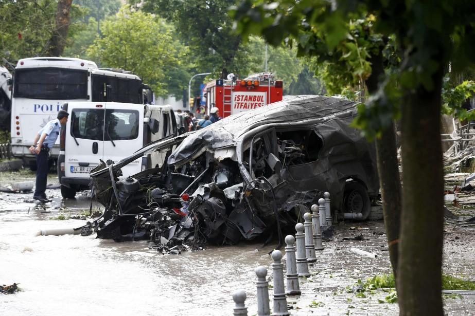 Le modus operandi de cet attentat qui, de... (Photo Reuters)