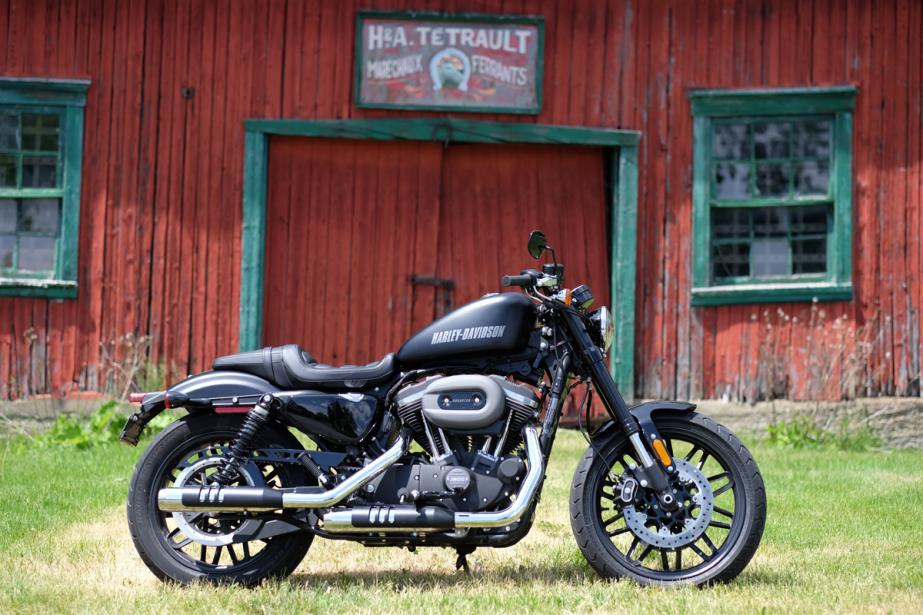 La Harley-Davidson Roadster (Photo Martin Chamberland, La Presse)