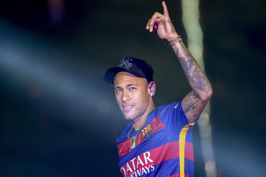 Neymar... (Photo Josep Lago, AFP)