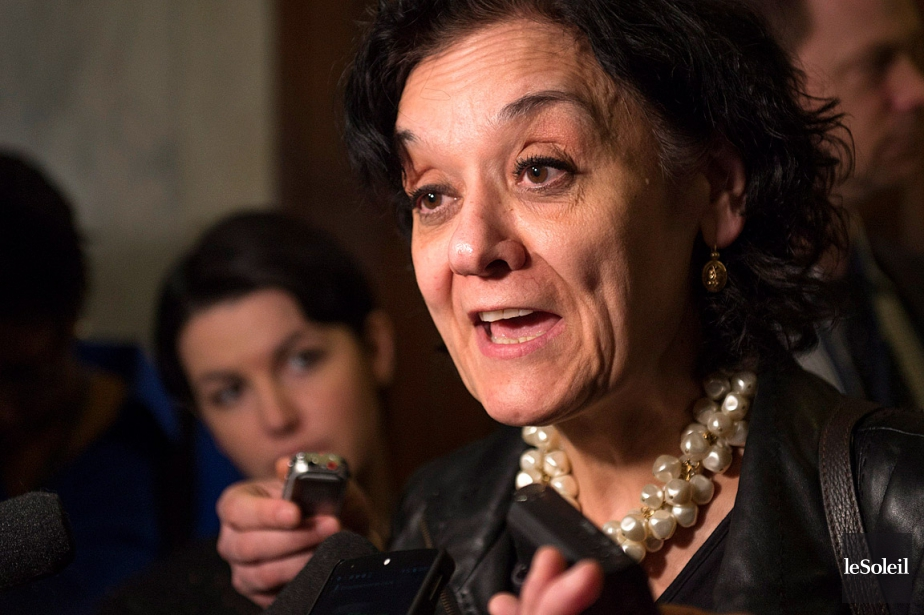 La ministre responsable des Institutions démocratiques, Rita de... (Photothèque Le Soleil)