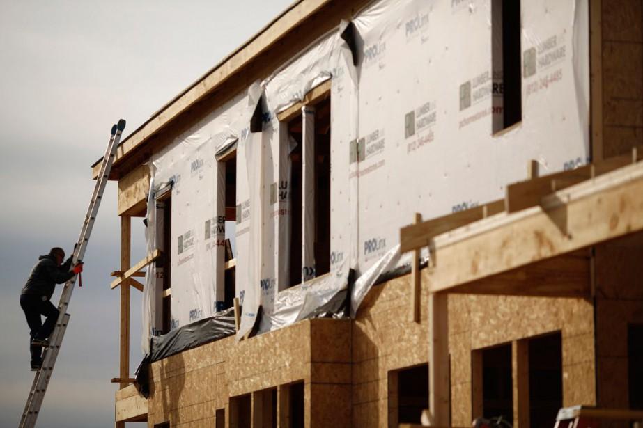 La contribution très négative des permis de construire,... (PHOTO ARCHIVES BLOOMBERG)