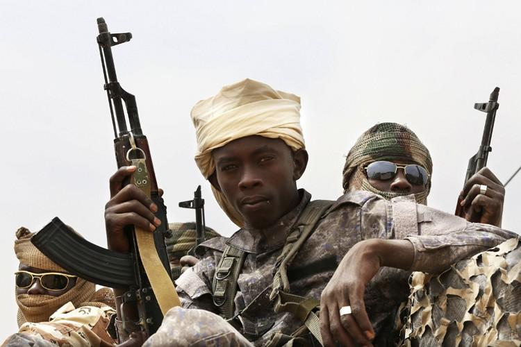 Les soldats tchadiensont pour mission de «traquer partout... (ARCHIVES REUTERS)