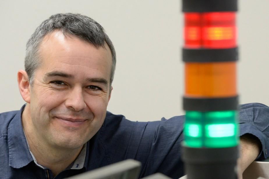 Louis Roy, le PDG et fondateur d'Optel Vision,va... (PHOTO Jean-Marie Villeneuve, LE SOLEIL)