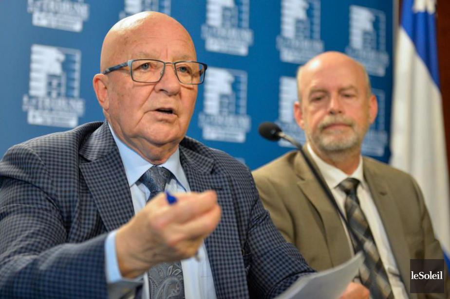 L'ancien ministre péquiste des Transports Guy Chevrette a... (PHOTO PASCAL RATTHÉ, ARCHIVES LE SOLEIL)
