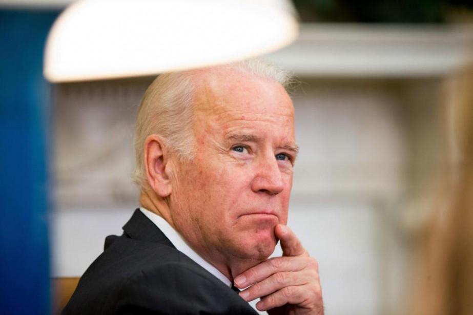 Le vice-président américain Joe Biden a fait parvenir... (PHOTO ANDREW HARNIK, ARCHIVES ASSOCIATED PRESS)