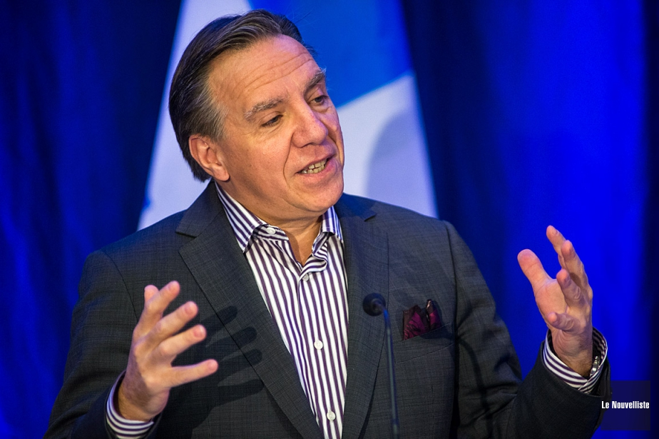 Le chef de la Coalition avenir Québec (CAQ),... (Archives Le Nouvelliste, Olivier Croteau)