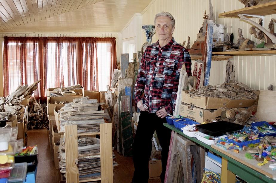 La beaut gratuite du bois flott et de la c ramique de plage mich le laf - Bois flotte montreal ...