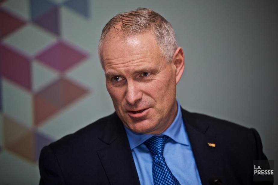 Le président et chef de la direction deTC... (Photo André Pichette, La Presse)