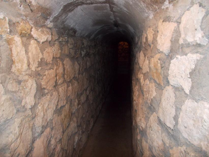 Le tunnel secret où se cachaient les Dalton à Meade. (Collaboration spéciale Ian Bussières)