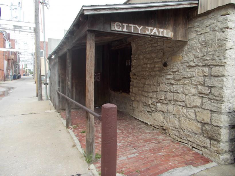 La prison où ont été déposées les dépouilles de la bande des Dalton. (Collaboration spéciale Ian Bussières)