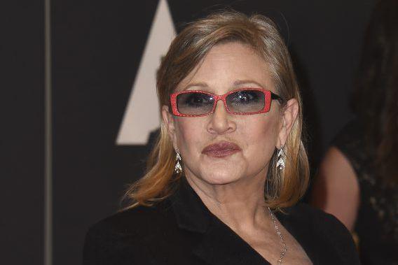 Carrie Fisher a déclaré aux lecteurs duGuardianque ses... (Photo VALERIE MACON, archives AFP)