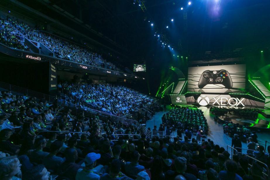 Les poids-lourds de l'industrie n'abandonneront pas à l'E3... (Photo Damian Dovarganes, Archives AP)