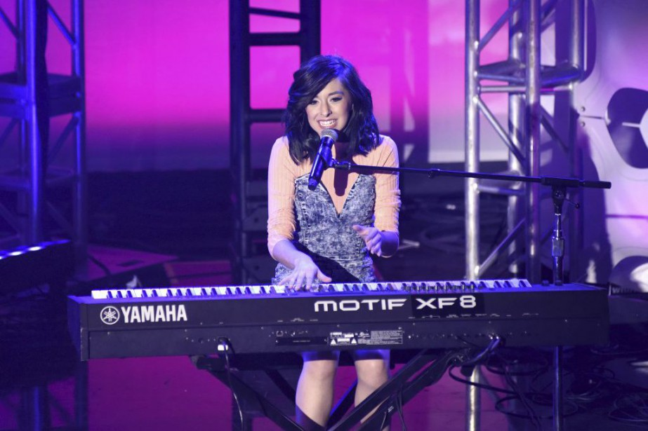Christina Grimmie venait d'achever un concert en Floride et... (PHOTO VIVEN KILLILEA, ARCHIVES AFP / GETTY IMAGES)