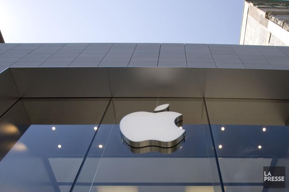 Le magasin Apple du centre-ville de Montréal.... (PHOTO DAVID BOILY, ARCHIVES LA PRESSE)