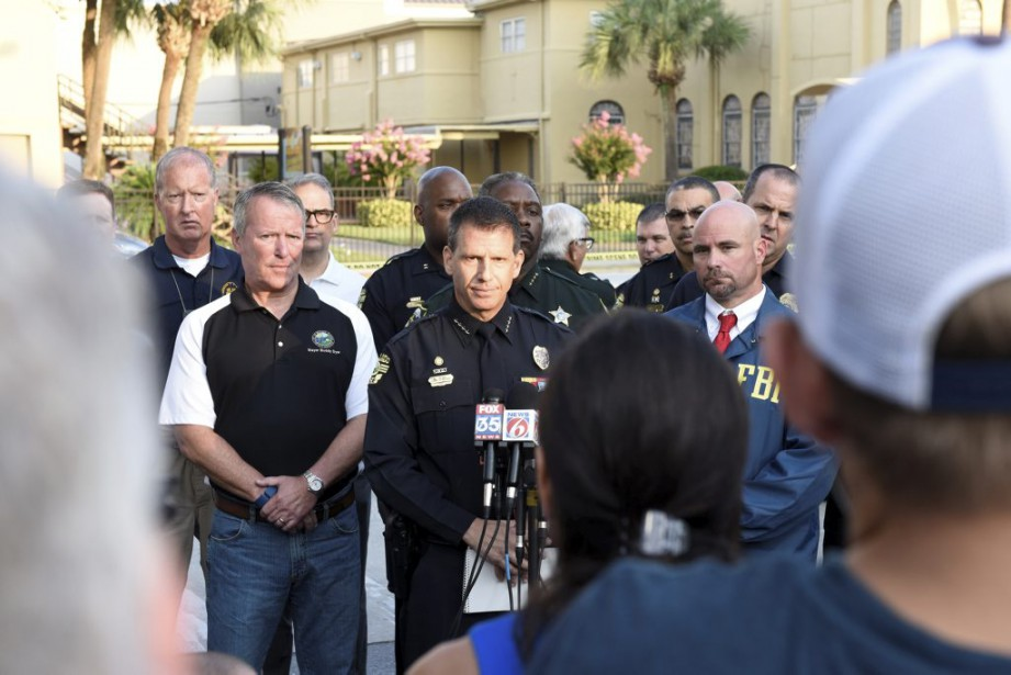 Le chef de la police d'Orlando John Mina. (Photo Kevin Kolczynski, Reuters)