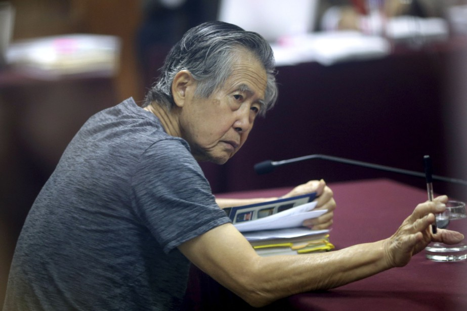 Alberto Fujimori.... (AP, Martin Mejia)