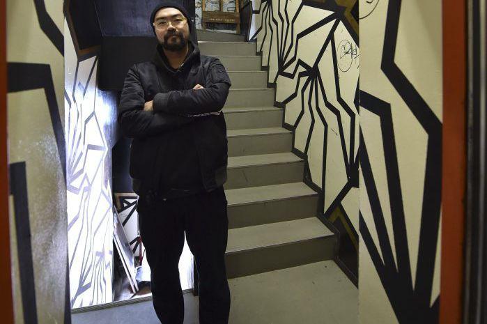 Kohei Yamao, connu sous le nom de BAKIBAKI,... (PHOTO AFP)