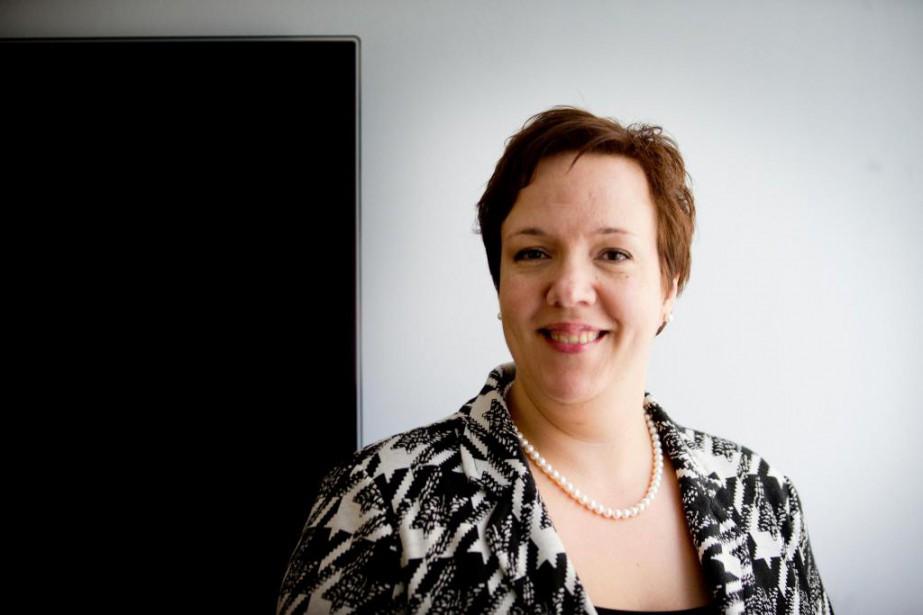 Rina Marchand, directrice principale, contenus et innovation, à... (PHOTO MARCO CAMPANOZZI, ARCHIVES LA PRESSE)