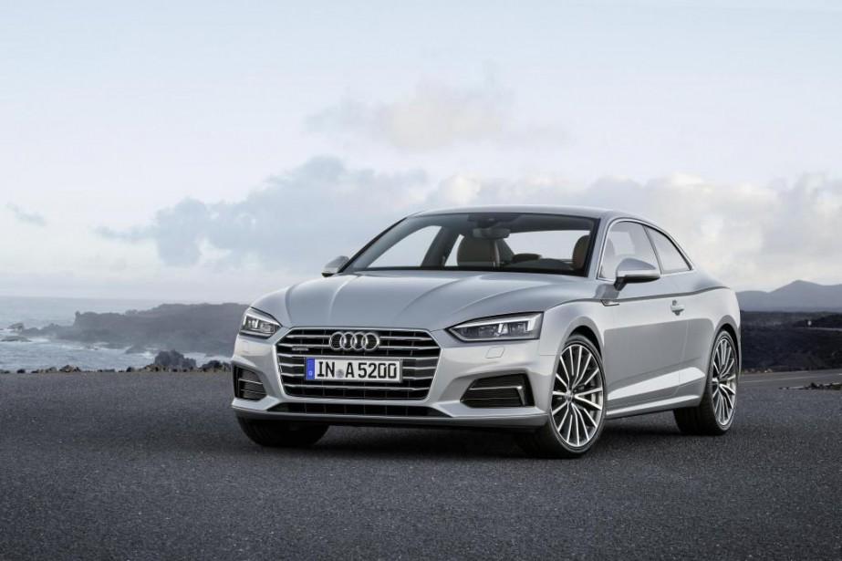 L'Audi A5 2017...