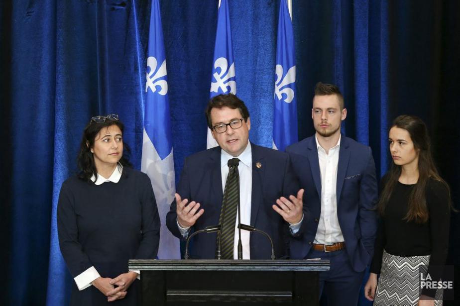 Le député et leader parlementaire péquiste Bernard Drainville... (Photo Robert Skinner, La Presse)